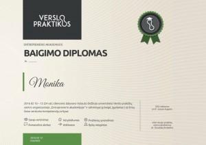 Verslo praktikos diplomas